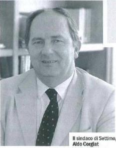 Il sindaco di Settimo Torinese, Aldo Corgiat