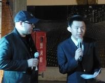 Un intervento nel corso di una iniziativa tenuto alla terza biennale di architettura a Pechino (foto pubblicata su Flickr (clicca sulla foto per l'originale).